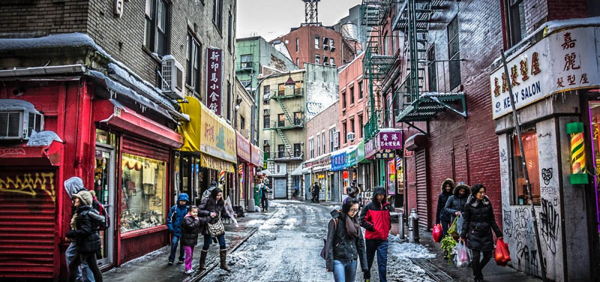 Doyers and Pell Street Chinatown New York City
