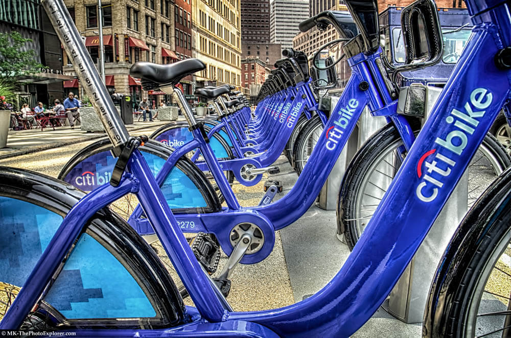 Citibike Docking Station NYC