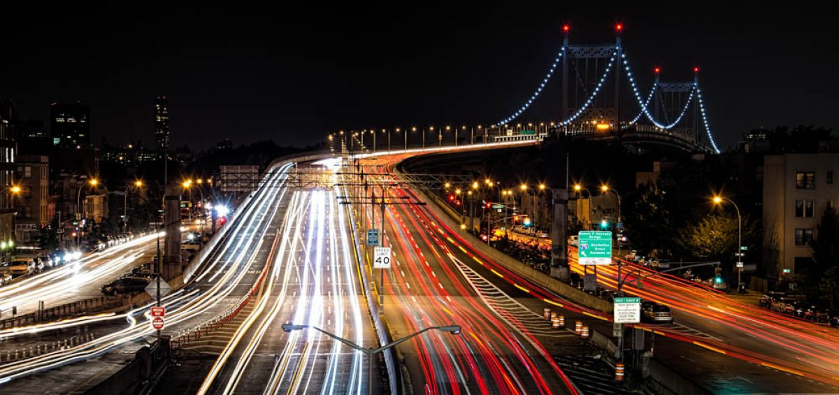 Triborough Bridge Long Exposure