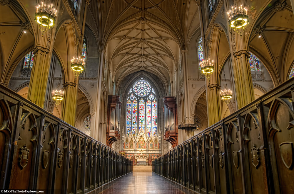 Grace Church NYC HDR