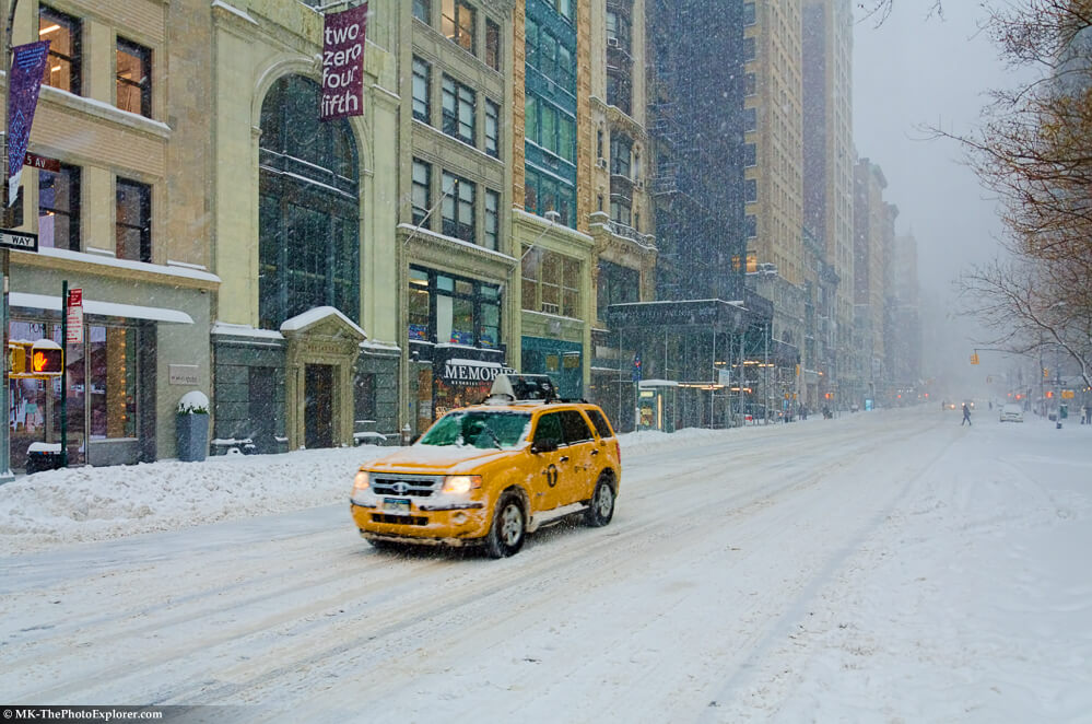 NYC Blizzard 5th Ave.