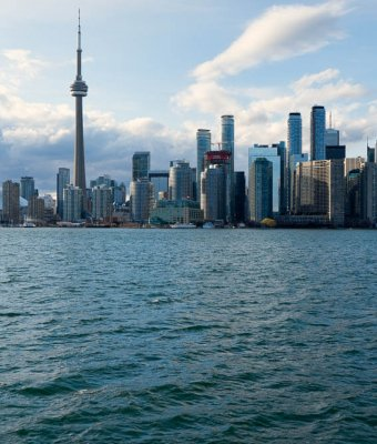 Cityscape from Toronto Islands