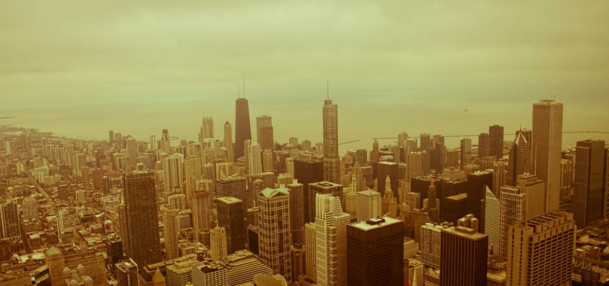 Chicago Cityscape from Skydeck