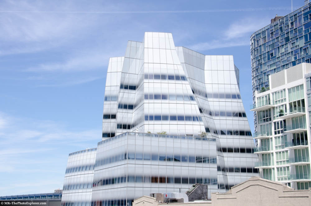 IAC Building from the High Line (before)