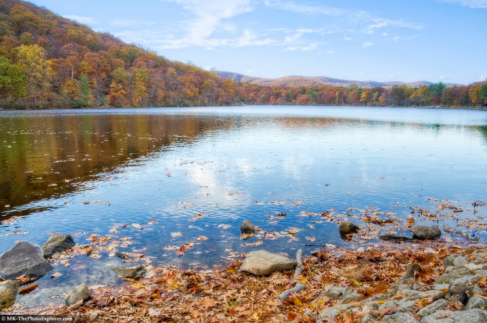 Hessian Lake at Bear Mountain State Park